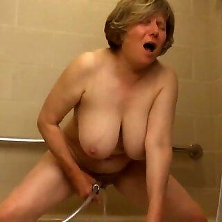 Orgasmic bliss causes Mom to drool by MarieRocks