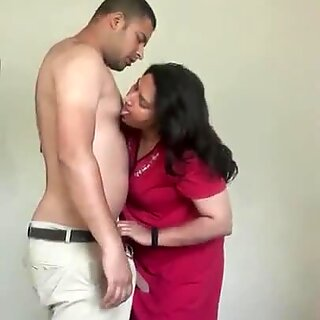 Sexy mom fucked by her son.