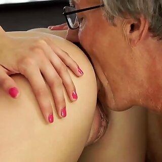 Sex with her boyboss s father after سباحة سباحة