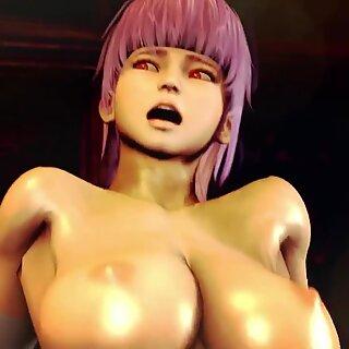 3D Fat Aliens Destroy Slim Teens! Dirty Porno!