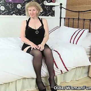 British granny Pearl is notorious for her high sex drive