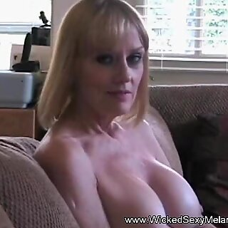 Big Tit Amateur Grandma Helps Out At Home