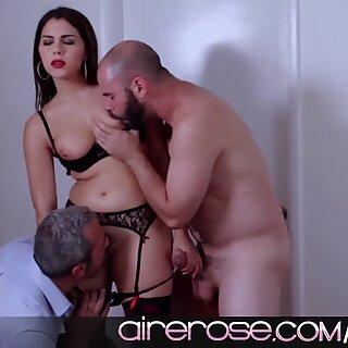 Airerose Valentina Nappi has all her holes stuffed