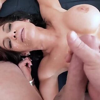 Blonde milf big tits doggy Ryder Skye in Stepmother Sex Sessions