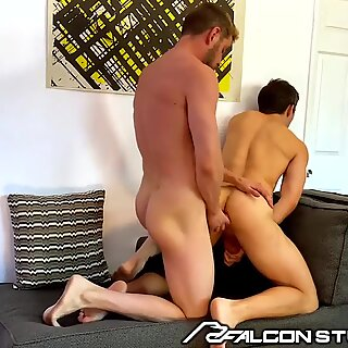 FalconStudios - Johnny Ford Pranks His Roommate &amp_ Feeds Him Dick
